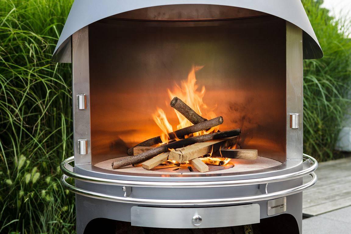 Barbecuecheminée à Foyer Ouvert à Foyer Ouvert Hades Conception