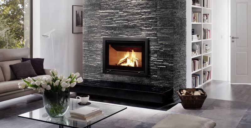 insert bois encastrable dans une chemin e existante mod le visible sur la garde conception. Black Bedroom Furniture Sets. Home Design Ideas